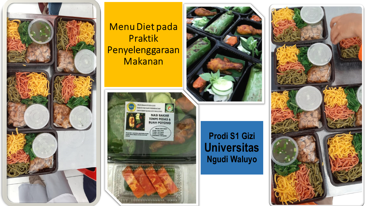 Praktik Penyelenggaraan Makanan Menu Diet